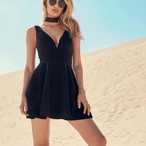 Lulus Black Feel Good Skort Dress!!